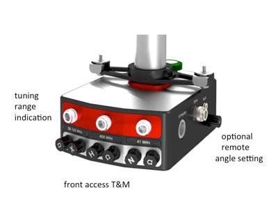 magic angle spinning probe